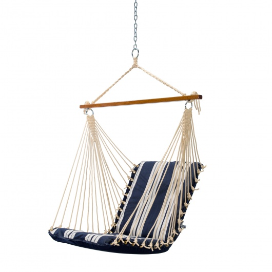 Cushioned Single Swing - Anchor Navy