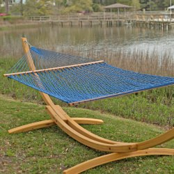 4 Ply Cypress Roman Arc 15 Ft Wood Hammock Stand On Sale