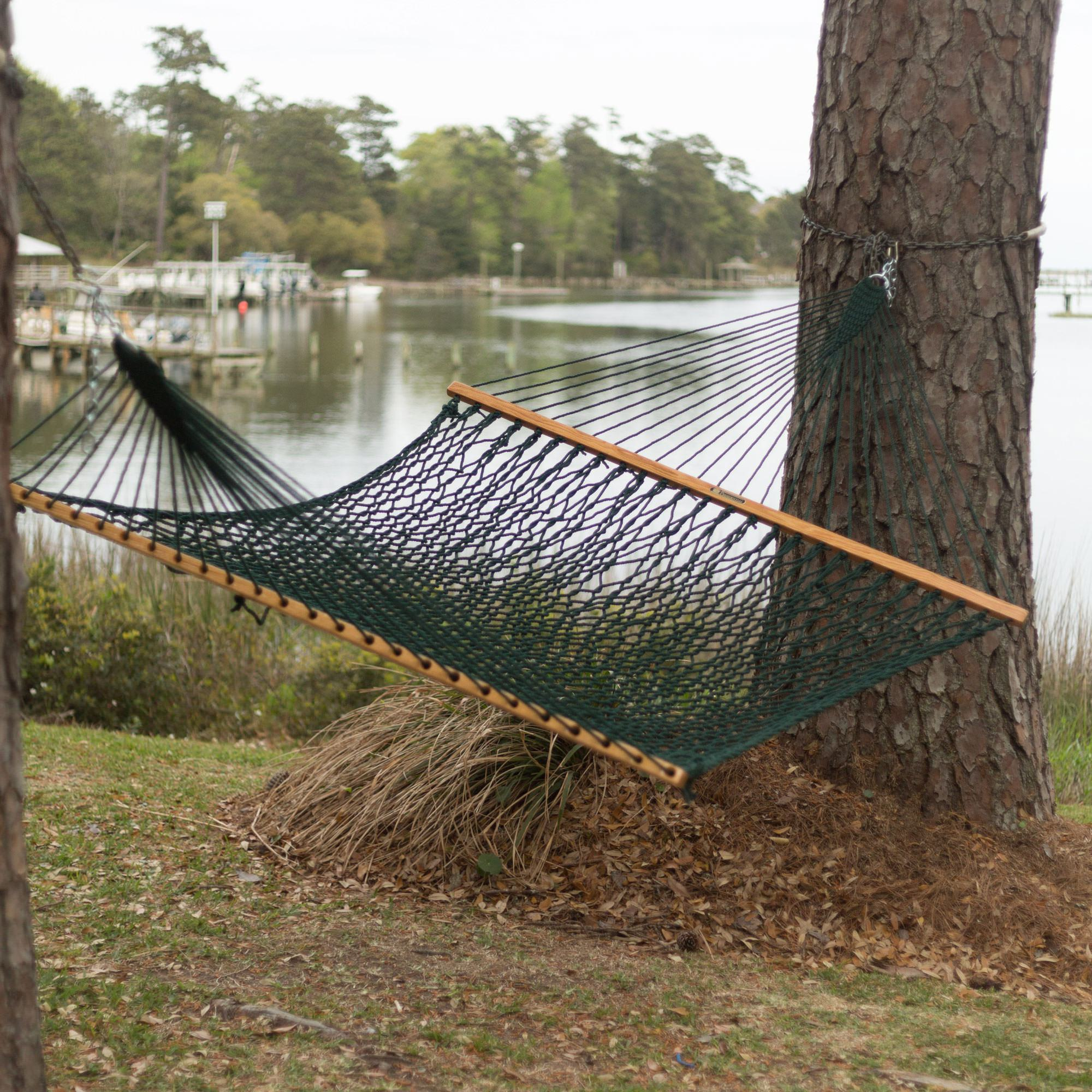 with heavenly hammock cotton grass large white hammocks bar on rope spreader