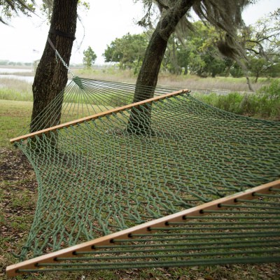 Presidential Original DuraCord Rope Hammock - Meadow