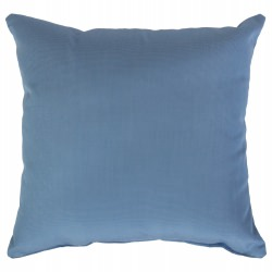 Canvas Air Blue Sunbrella Outdoor Throw Pillow