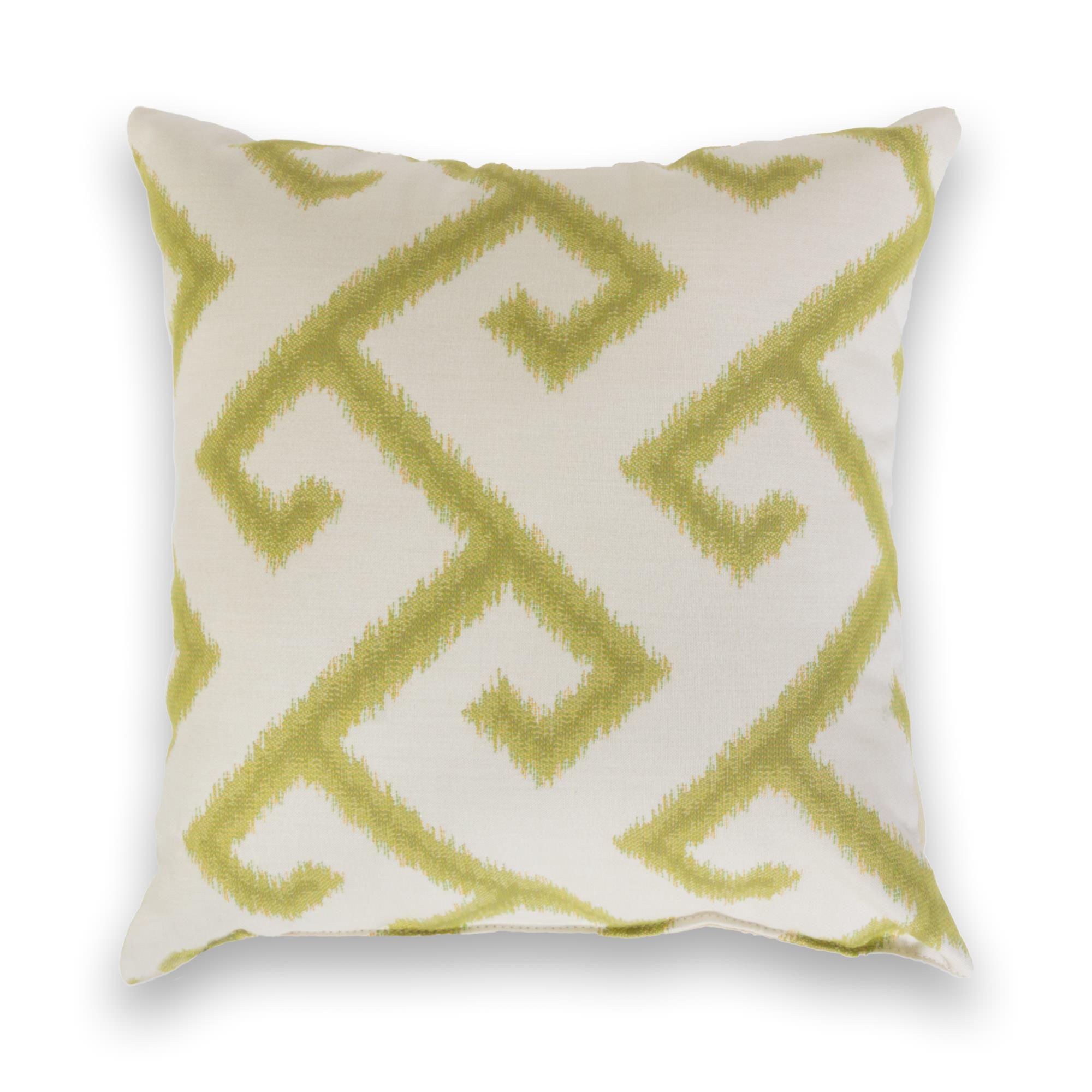El Greco Avacado Sunbrella Outdoor Throw Pillow