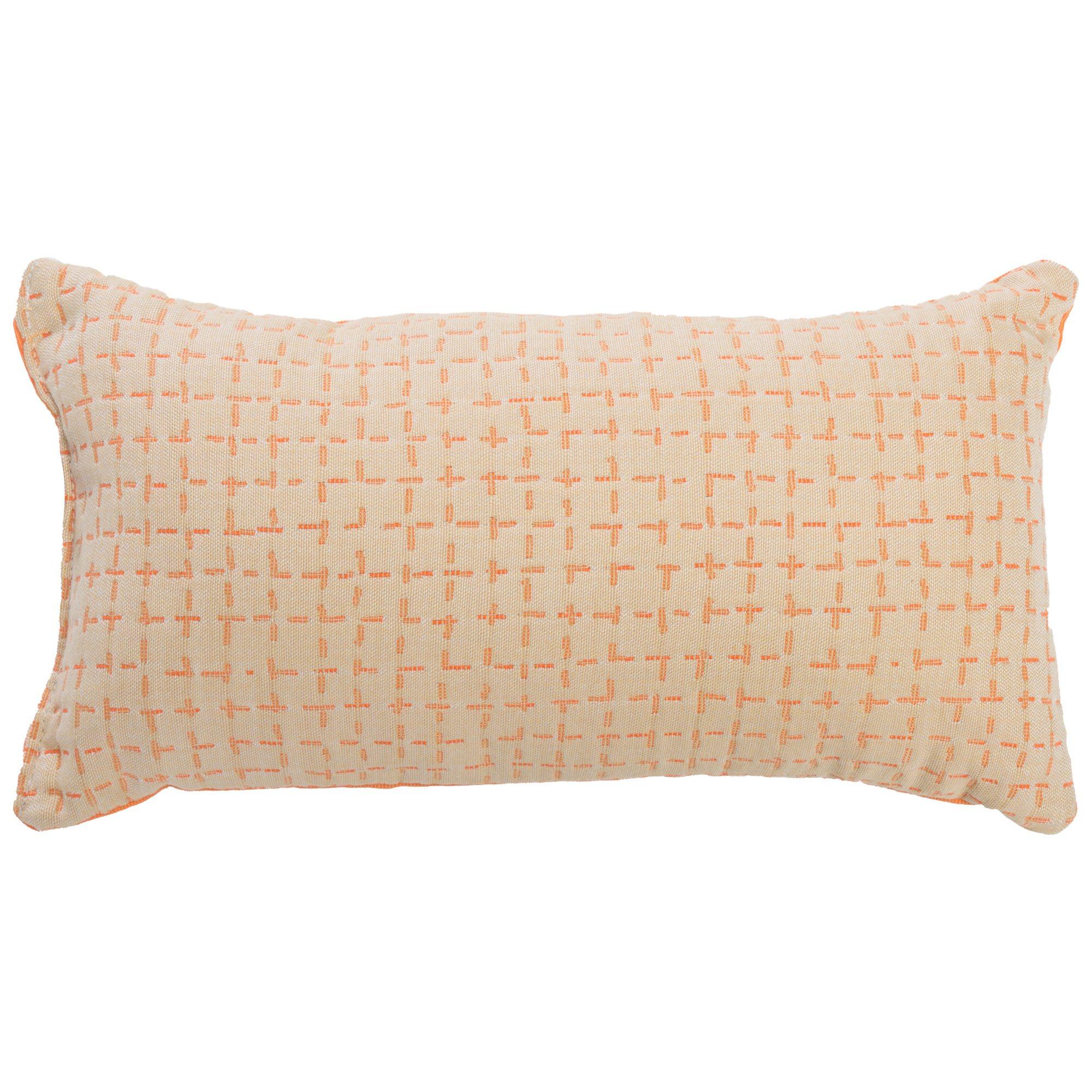 Bellamy Tangelo Sunbrella Outdoor Throw Pillow