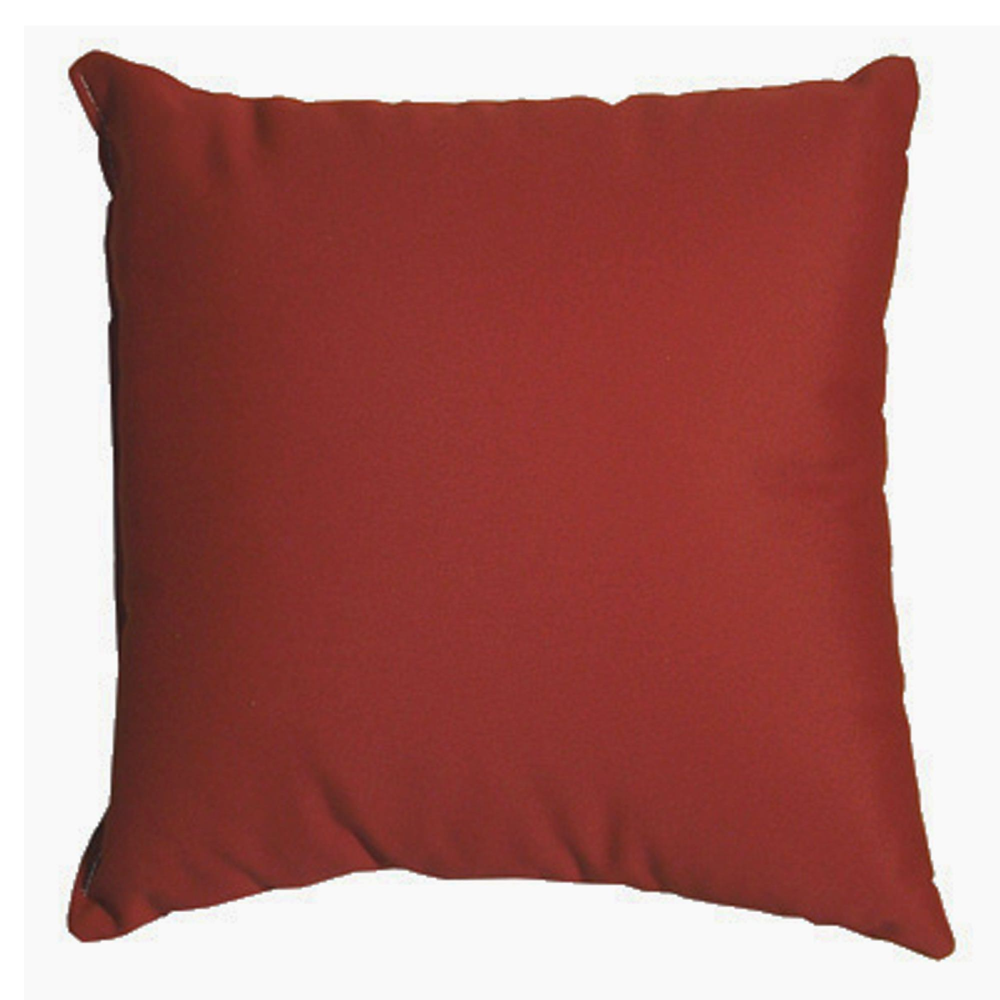 Burgundy Sunbrella Outdoor Throw Pillow