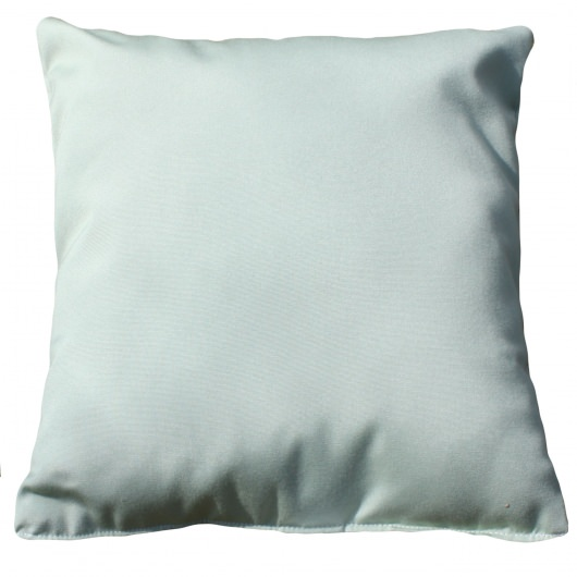Canvas Celadon Sunbrella Outdoor Throw Pillow