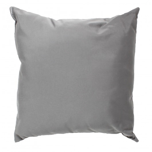 Charcoal Gray Sunbrella Outdoor Throw Pillow