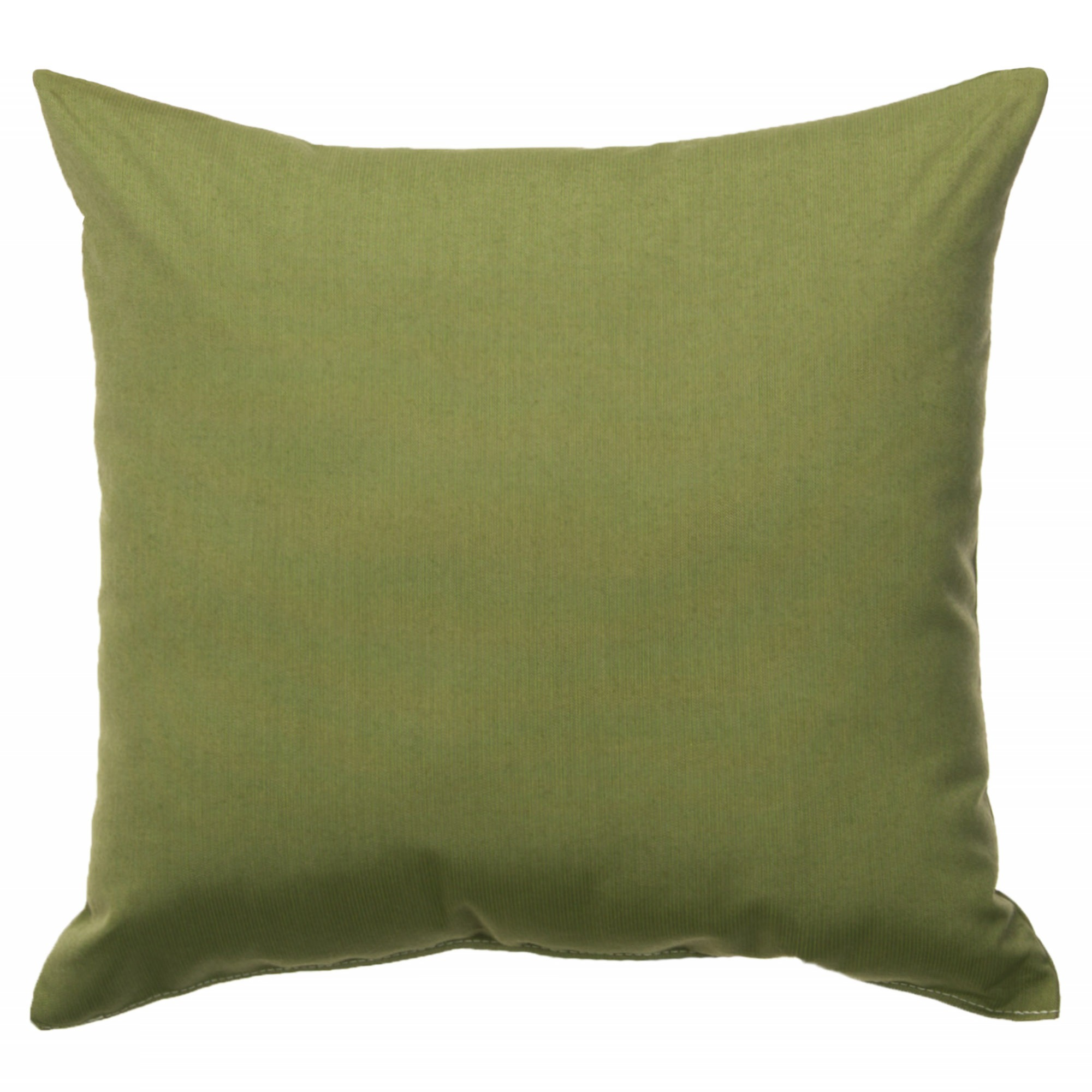 Spectrum Cilantro Sunbrella Outdoor Throw Pillow