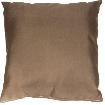 Cocoa Sunbrella Outdoor Throw Pillow