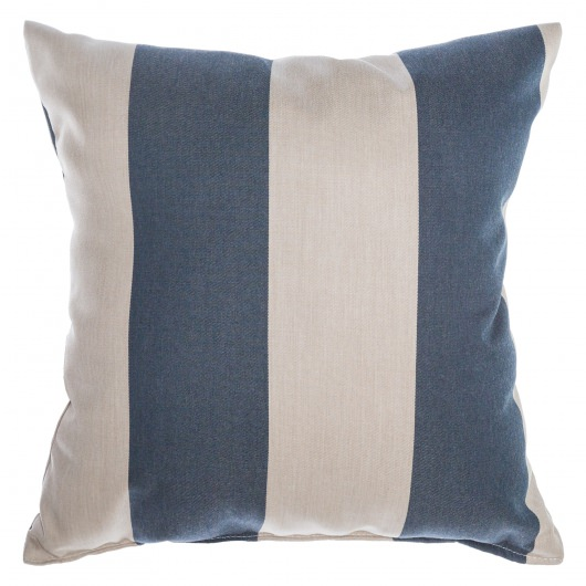 Sunbrella Throw Pillow - Regency Indigo