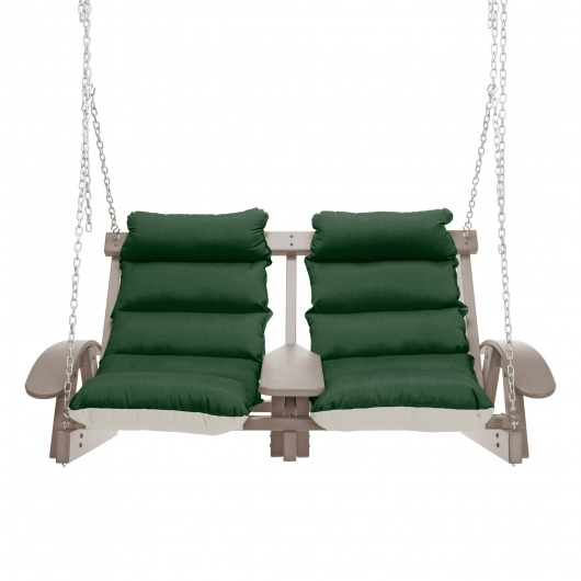 Coastal WeatherWood Cushion Swing