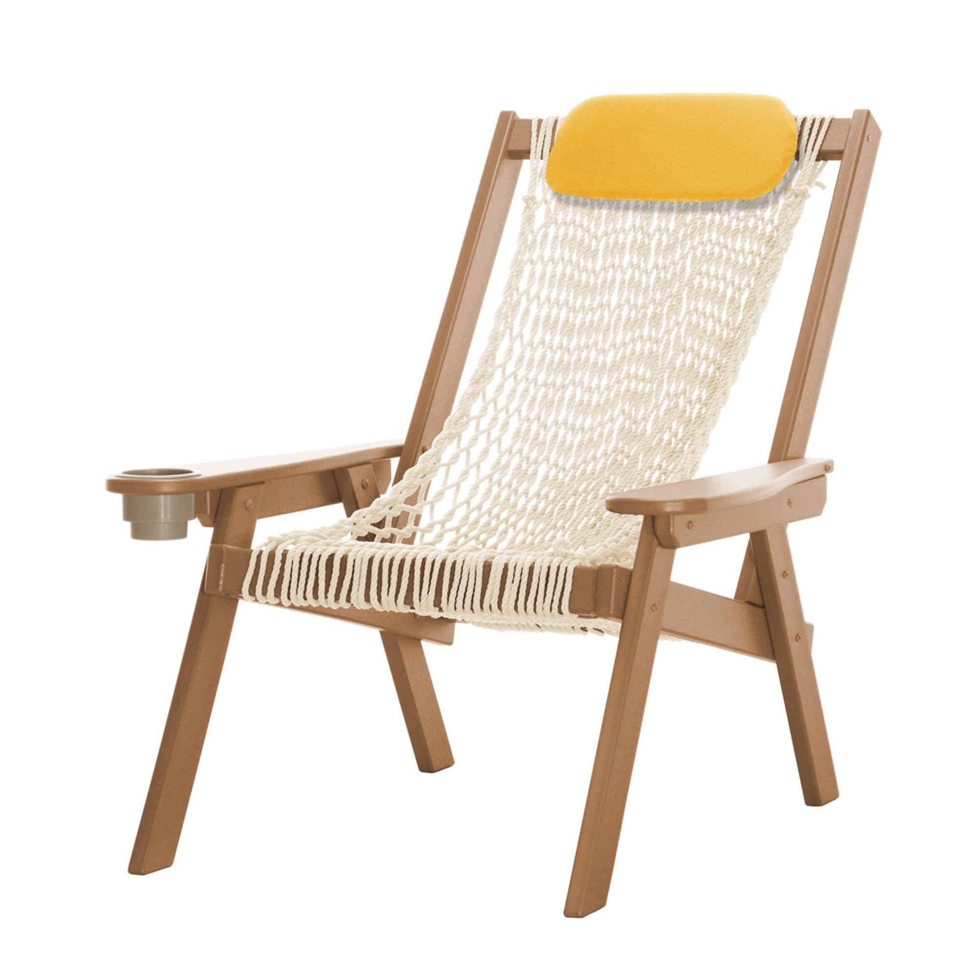 Coastal cedar rope chair