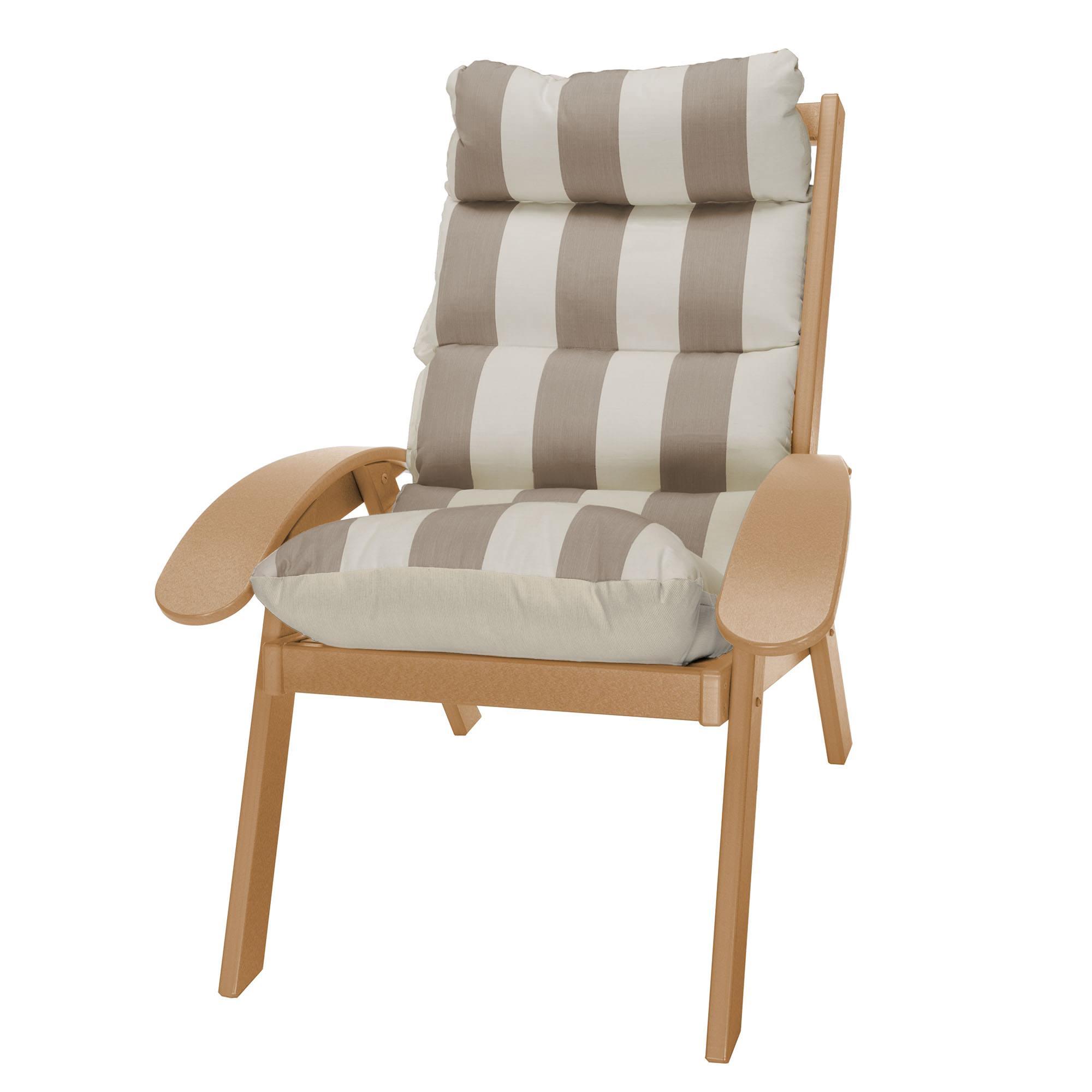 Coastal Cedar Cushion Chair On Sale Shop Patio Furniture