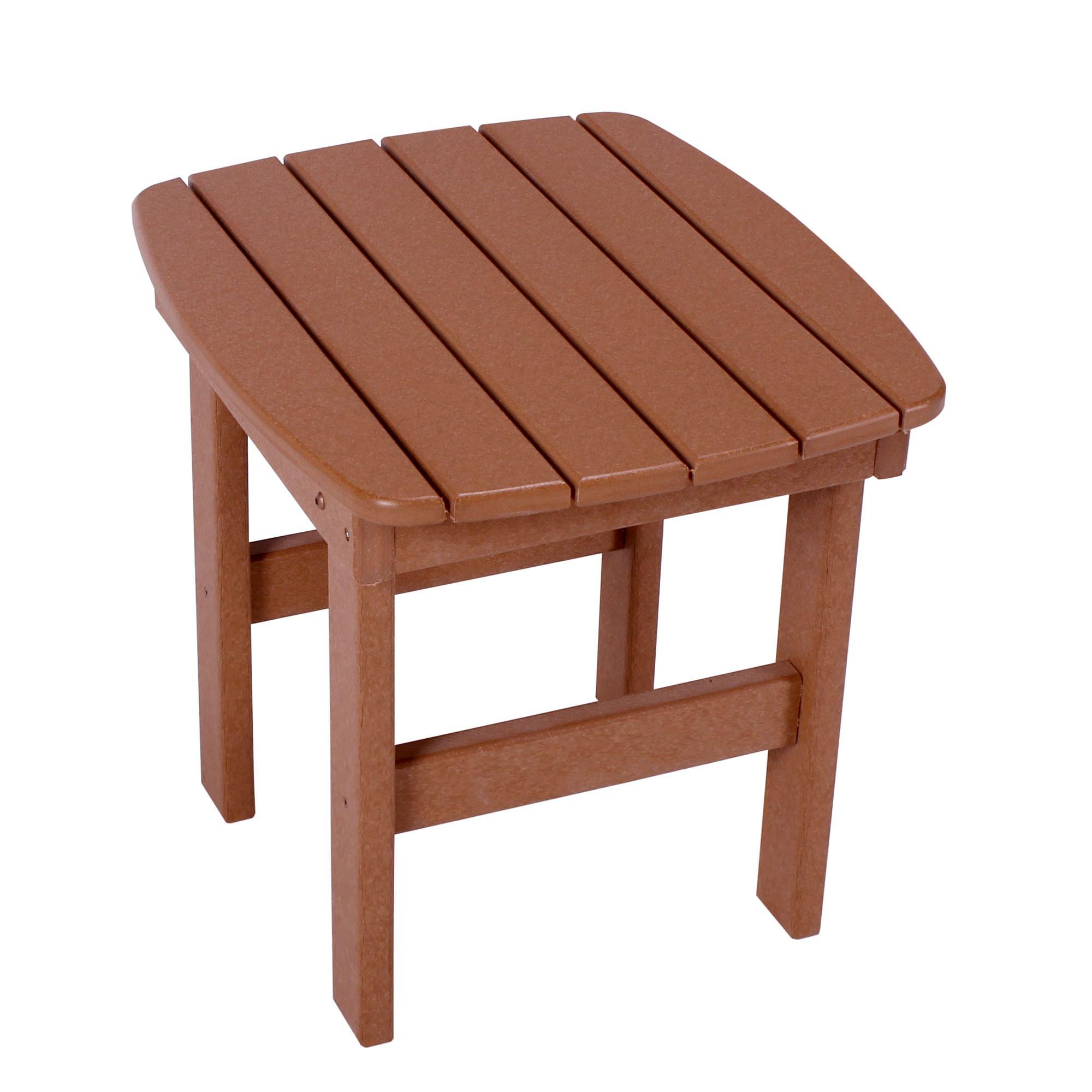 Cedar Durawood Side Table Pawleys Island Hammocks