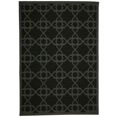 Antebellum Black - Pawleys Island Porch Rug