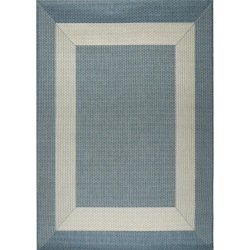 Blue and Champagne Boardwalk - Pawleys Island Porch Rug