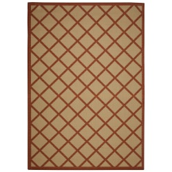 Hammock Coast Terra Cotta Porch Rug
