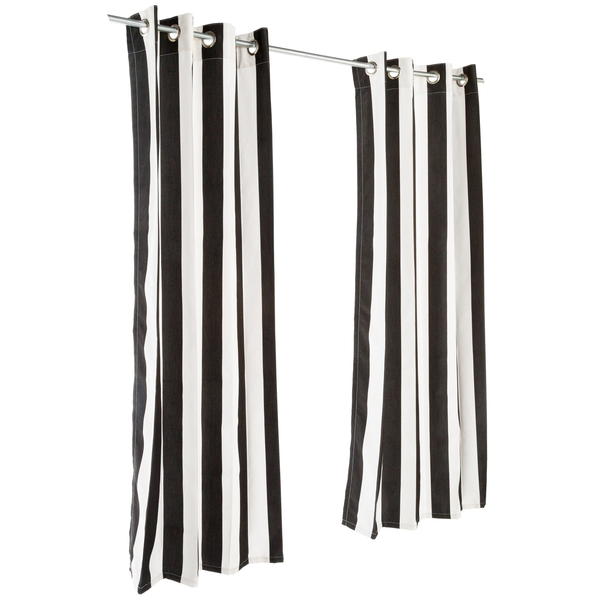 Sunbrella Cabana Clic Outdoor Curtain With Grommets