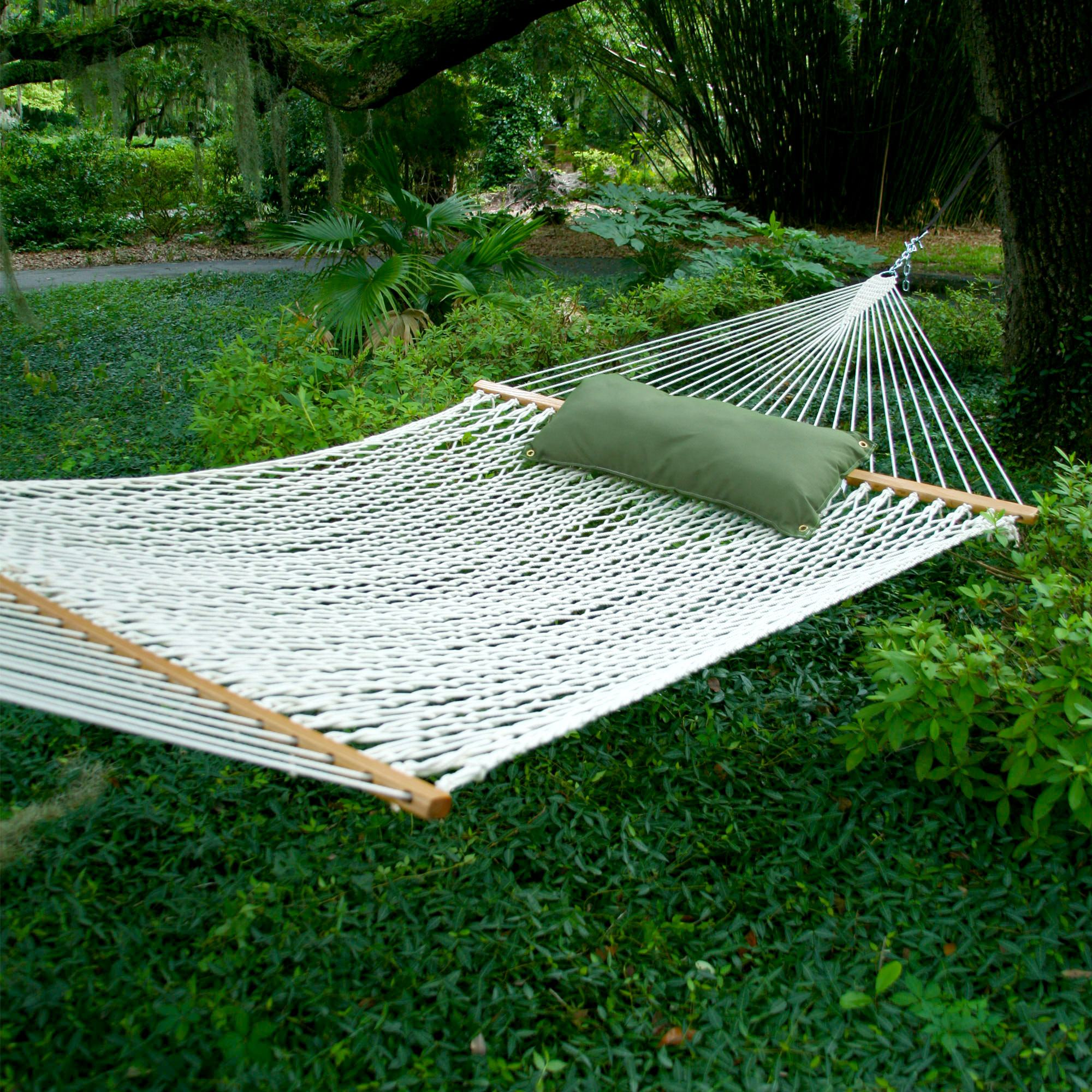 Hammocks Deluxe Original Polyester Rope Hammock On Sale