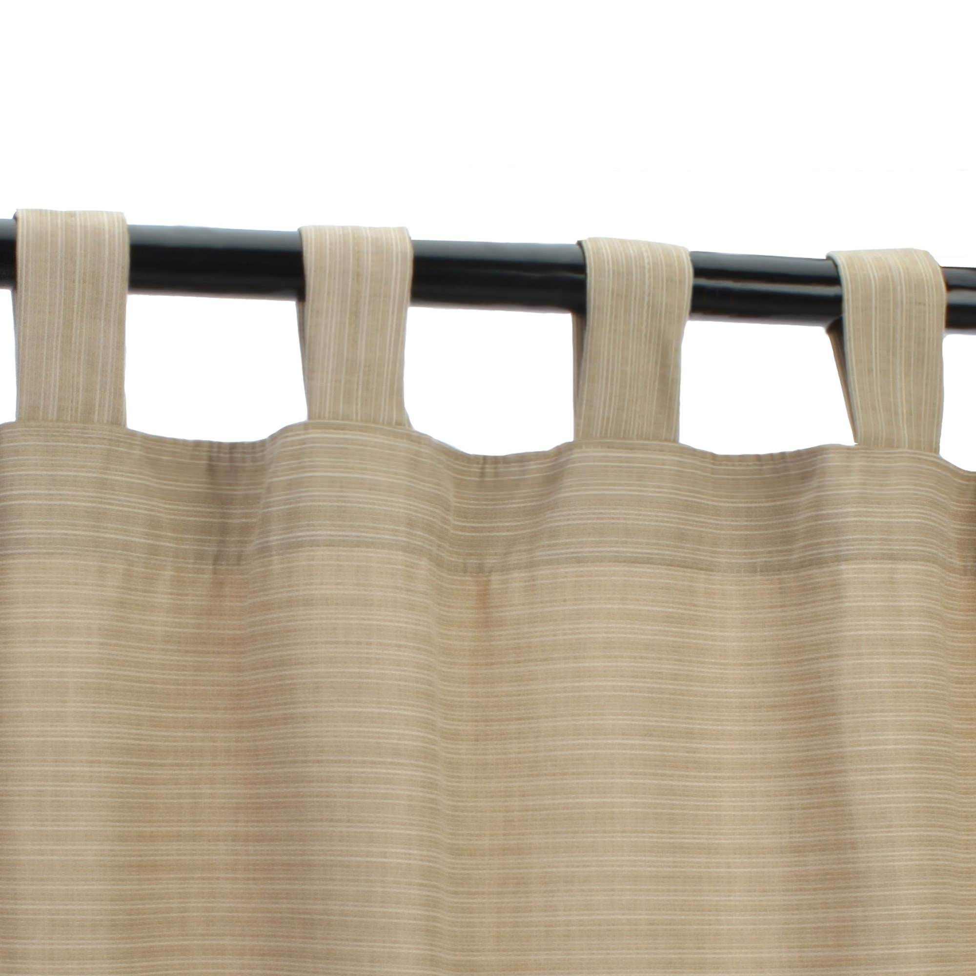 with outdoor panel curtains oasis nickel cast products grommet curtain grommets sunbrella