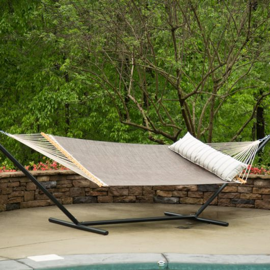Large Pool Side Hammock -Framework Bronze