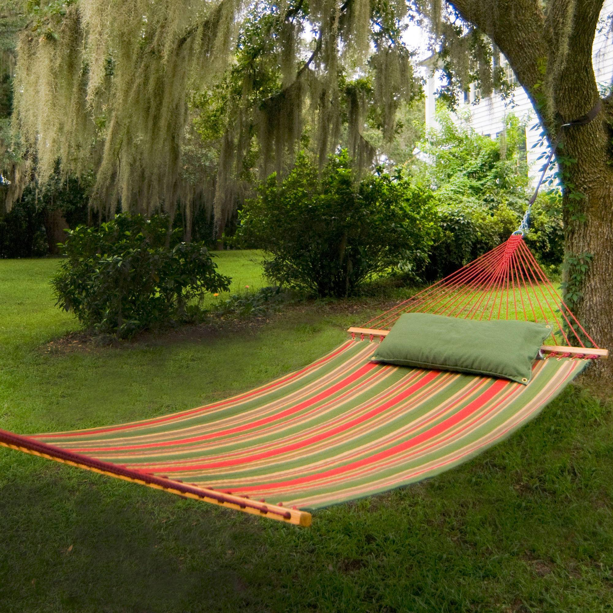 Best Backyard Hammock : Trellis Garden Large Quilted Fabric Hammock  Pawleys Island