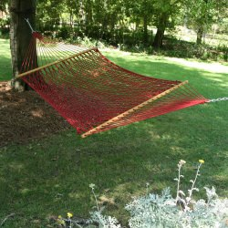 Large Original Duracord Rope Hammock - Garnet