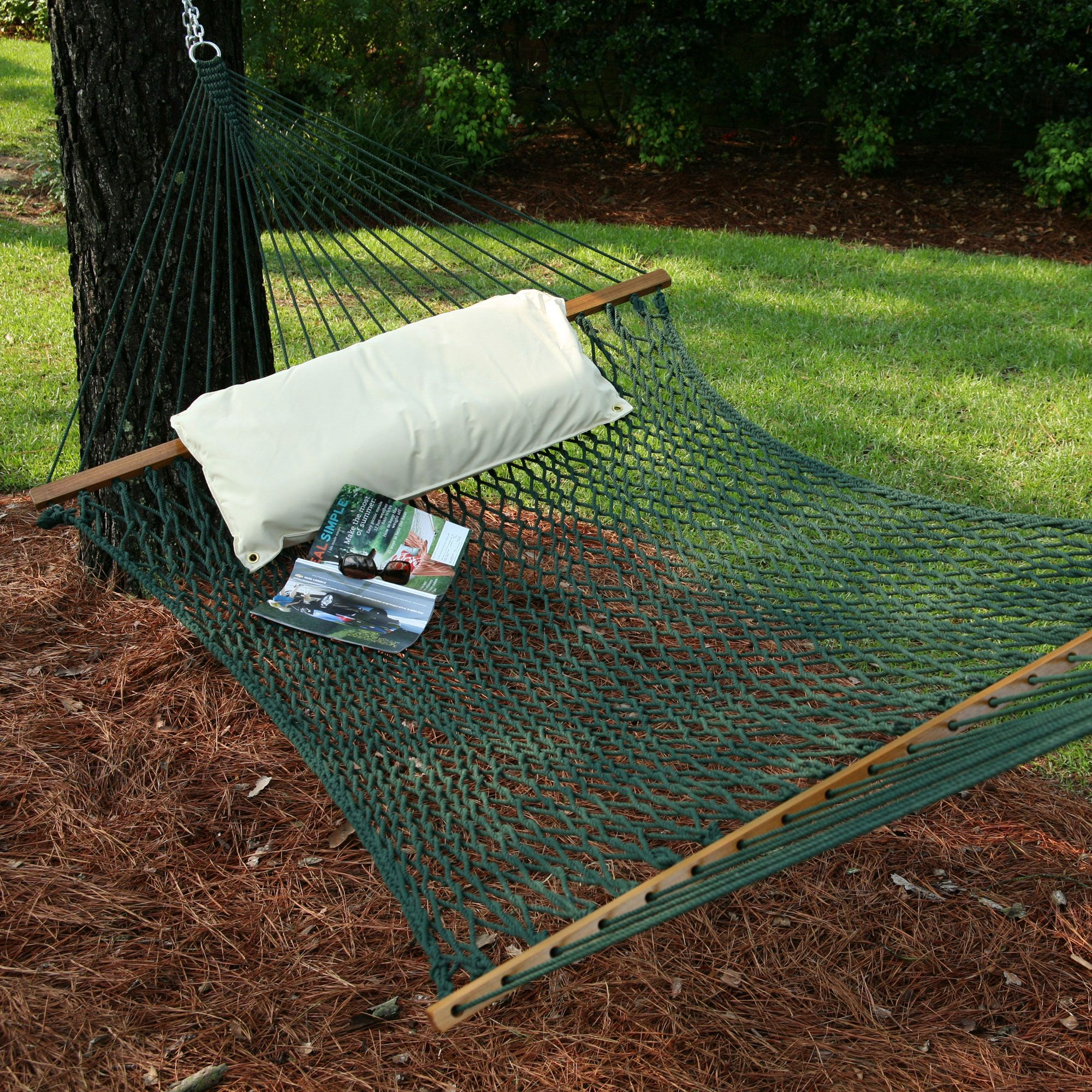 Green Large Original Duracord Rope Hammock Pawleys Island