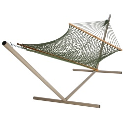 Large Original DuraCord Rope Hammock - Meadow