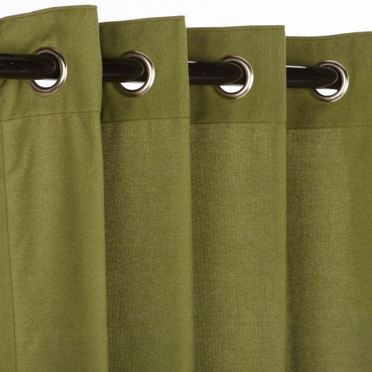Canvas Curtains With Grommets - Curtains Design Gallery