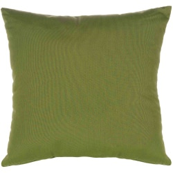Canvas Turf Sunbrella Outdoor Throw Pillow