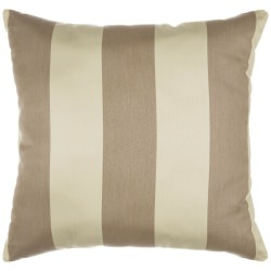 Regency Sand Sunbrella Outdoor Throw Pillow
