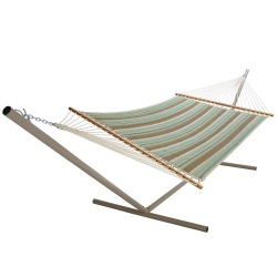 Miramar Moss Large Quilted Fabric Hammock