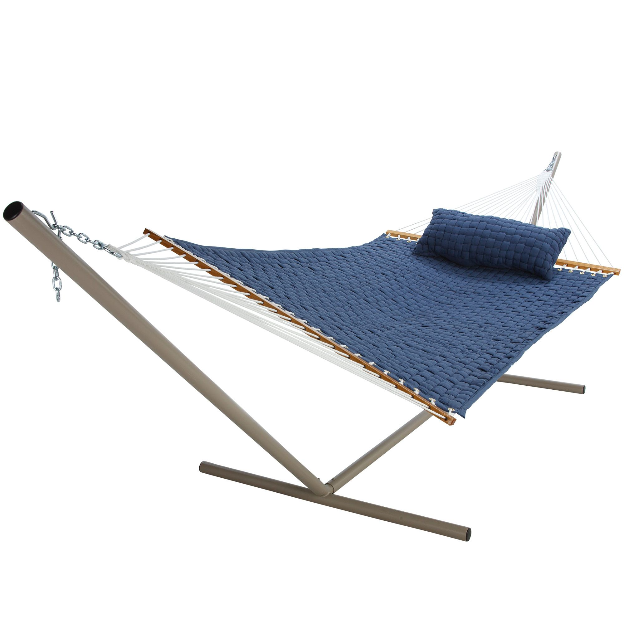Blue Large Soft Weave Hammock by Pawleys Island Hammocks