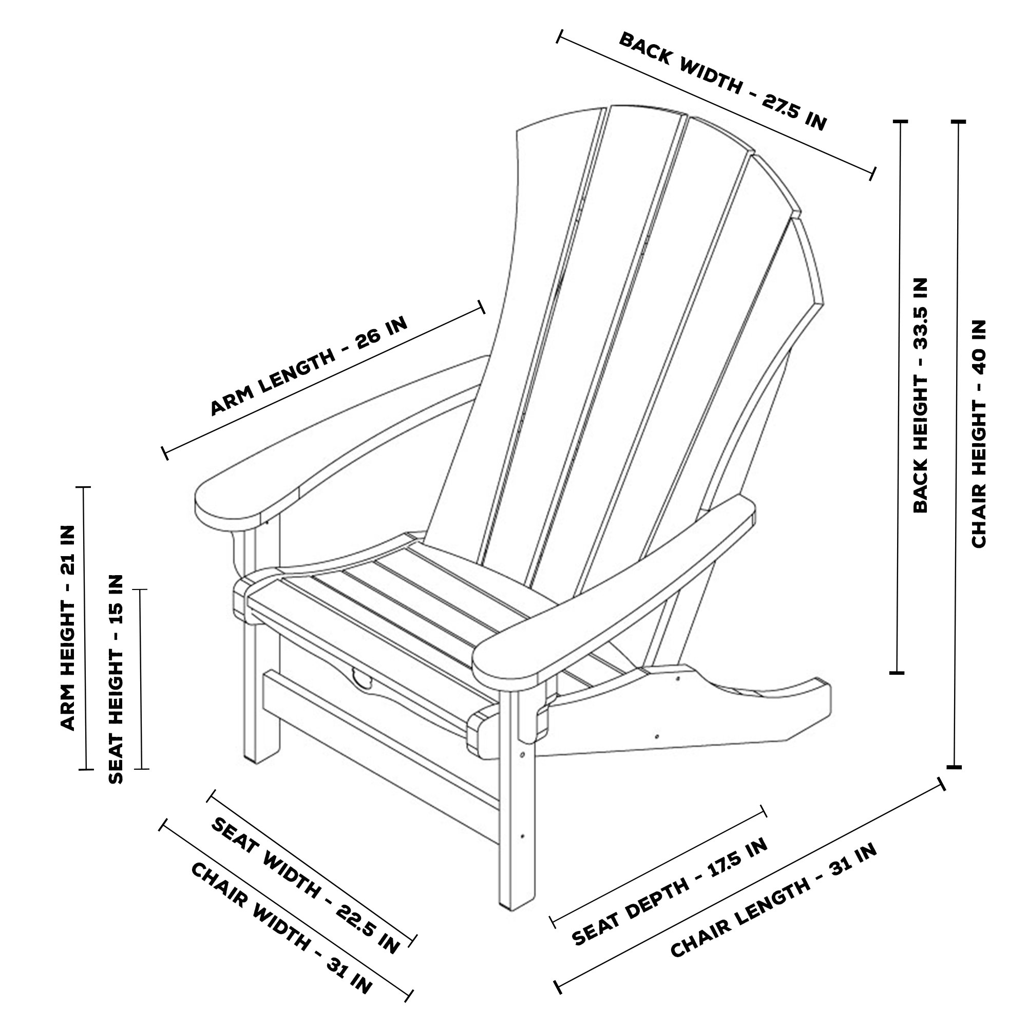 Sunrise Adirondack Chair · Sunrise Adirondack Chair ...