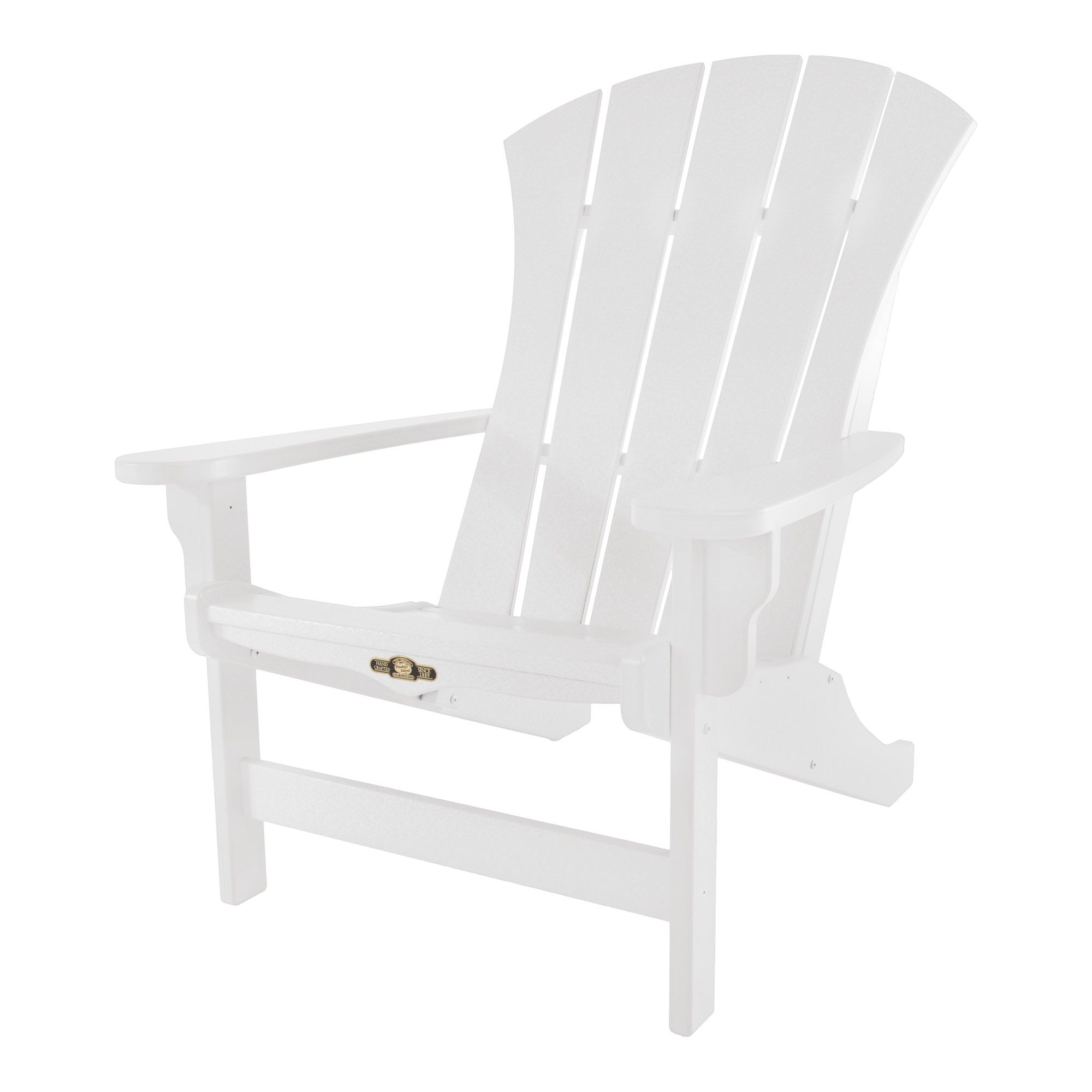 Sunrise White Durawood Adirondack Chair Pawleys Island