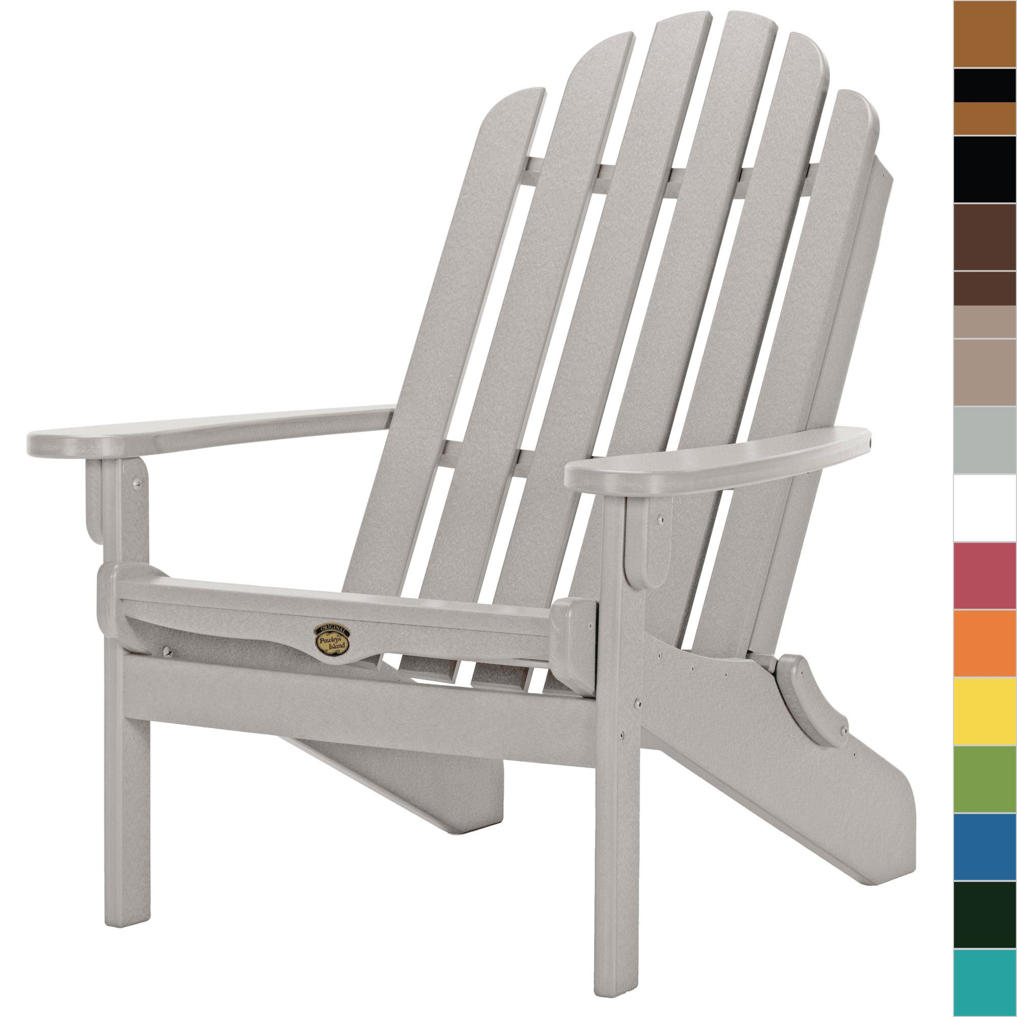 Essentials Folding Adirondack Chair Pawleys Island