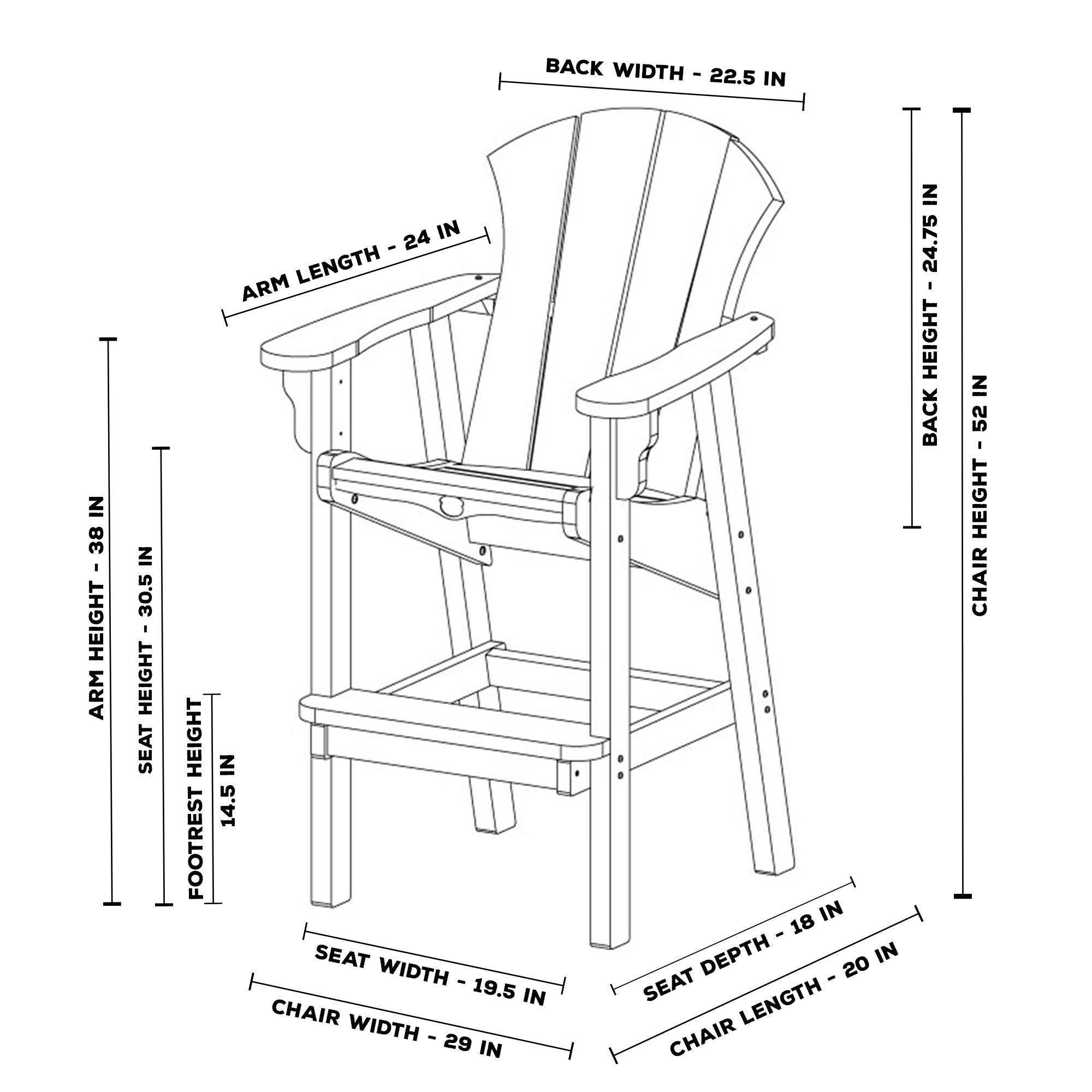 Sunrise High Dining Chair · Sunrise High Dining Chair ...