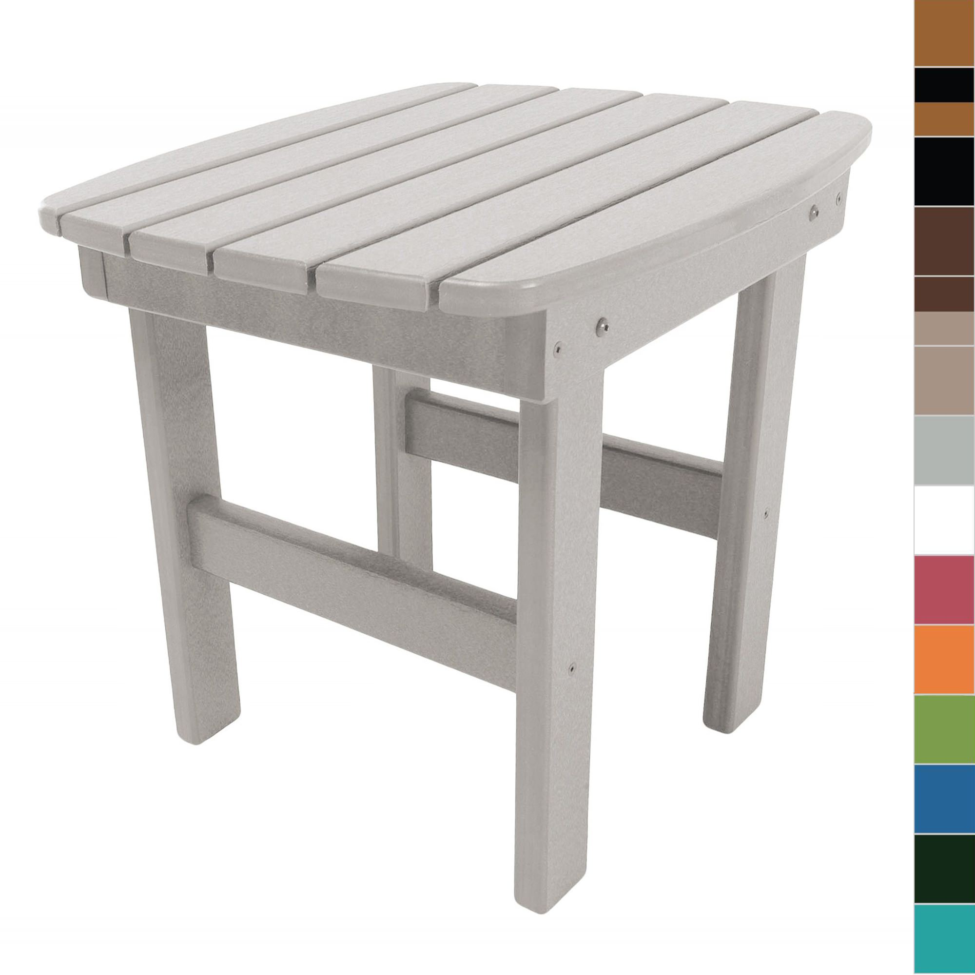 Shop durawood adirondack side tables on sale for Outdoor furniture end tables