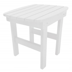 White Durawood Side Table
