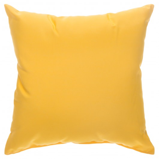 Canvas Sunflower Yellow Sunbrella Designer Porch Pillow