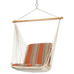 Single Cushioned Swing - Passage Poppy