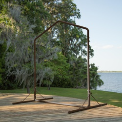 Metal Swing Stand - Bronze