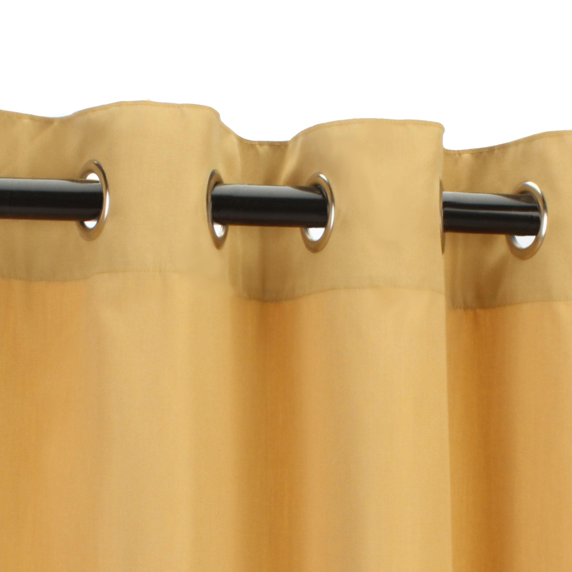 capture sunbrella graceful grommets nickel n outdoor curtain snow plated cur sheer with grommet sngrs elegant curtains