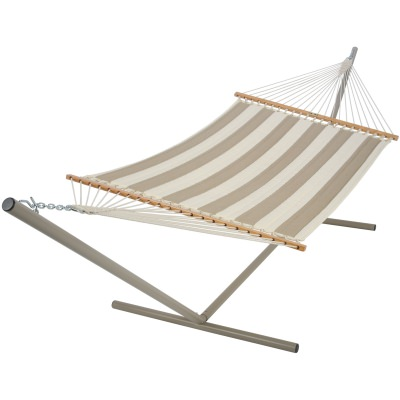 Large Quilted Fabric Hammock - Regency Sand