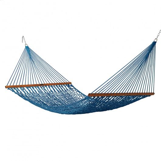 Coastal Blue Deluxe Original Duracord Rope Hammock