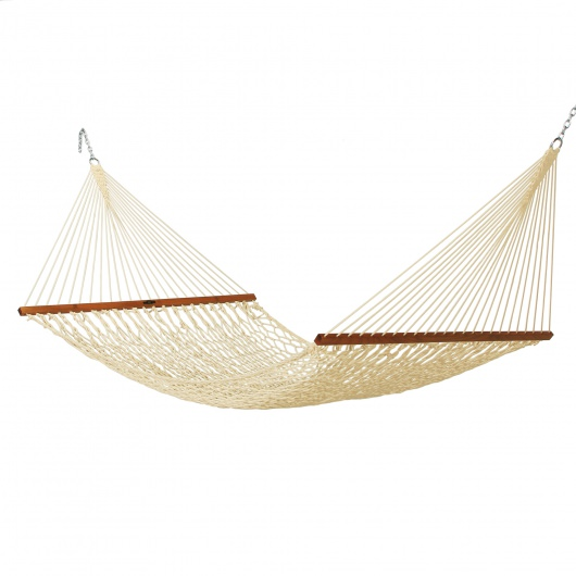 Deluxe Original DuraCord Rope Hammock - Oatmeal