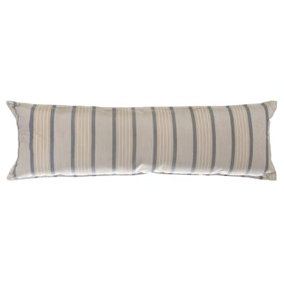 Long Sunbrella Hammock Pillow - Cove Pebble