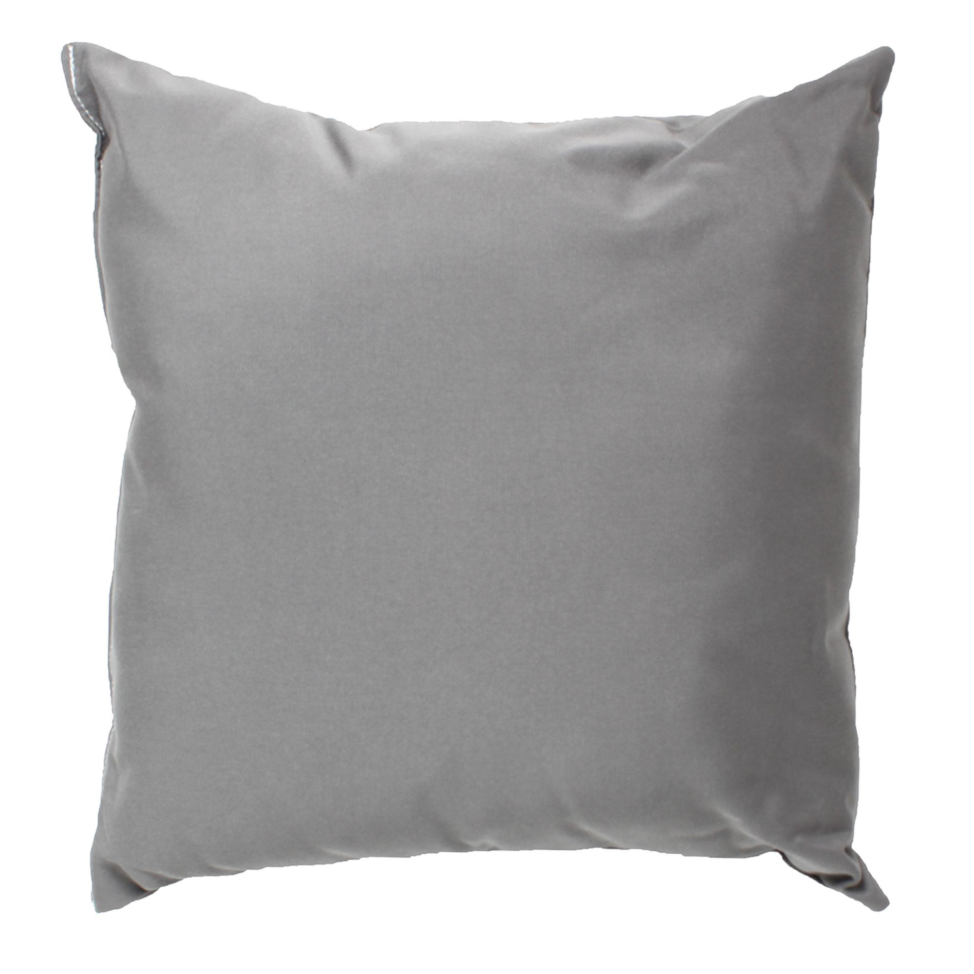 Charcoal Grey Sunbrella Outdoor Throw Pillow