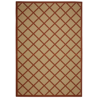 Hammock Coast Terra Cotta - Pawleys Island Outdoor Rug (2'3