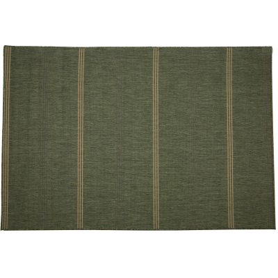 Inlet Stripe Green - Pawleys Island Outdoor Rug (5'3